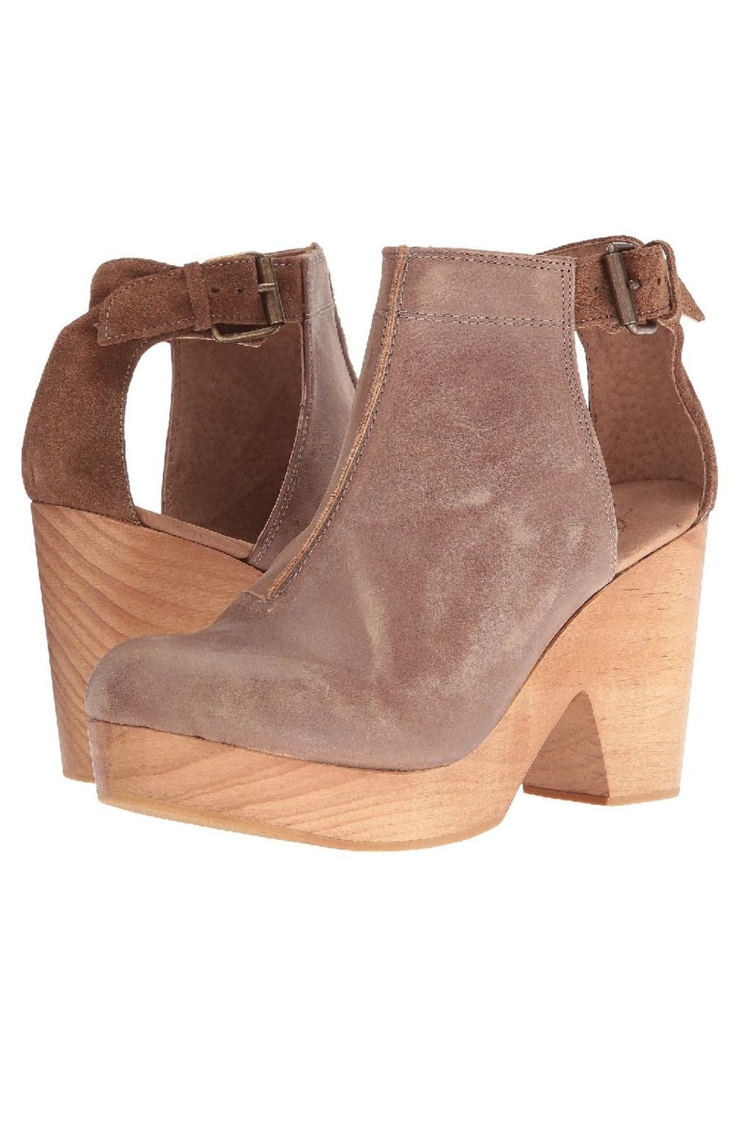 Free People Amber Orchard Clog - Back Cropped Image