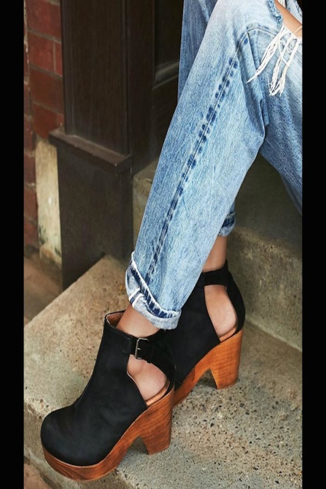 Free People Amber Orchard Clog - Side Cropped Image