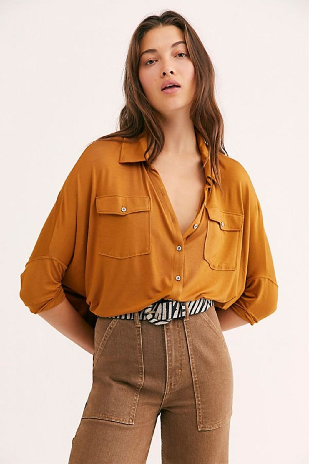 Free People Andy Tee - Front Cropped Image