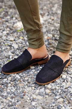 Shoptiques Product: Black Suede Loafer