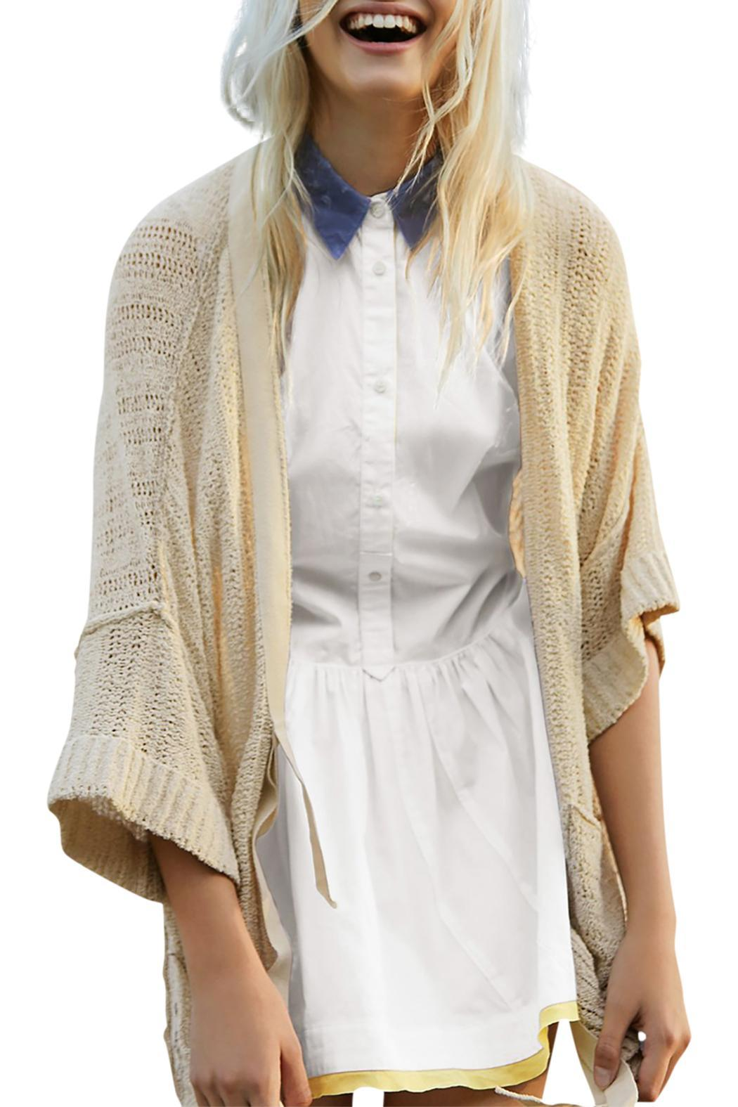 Free People Beach House Cardigan - Front Cropped Image