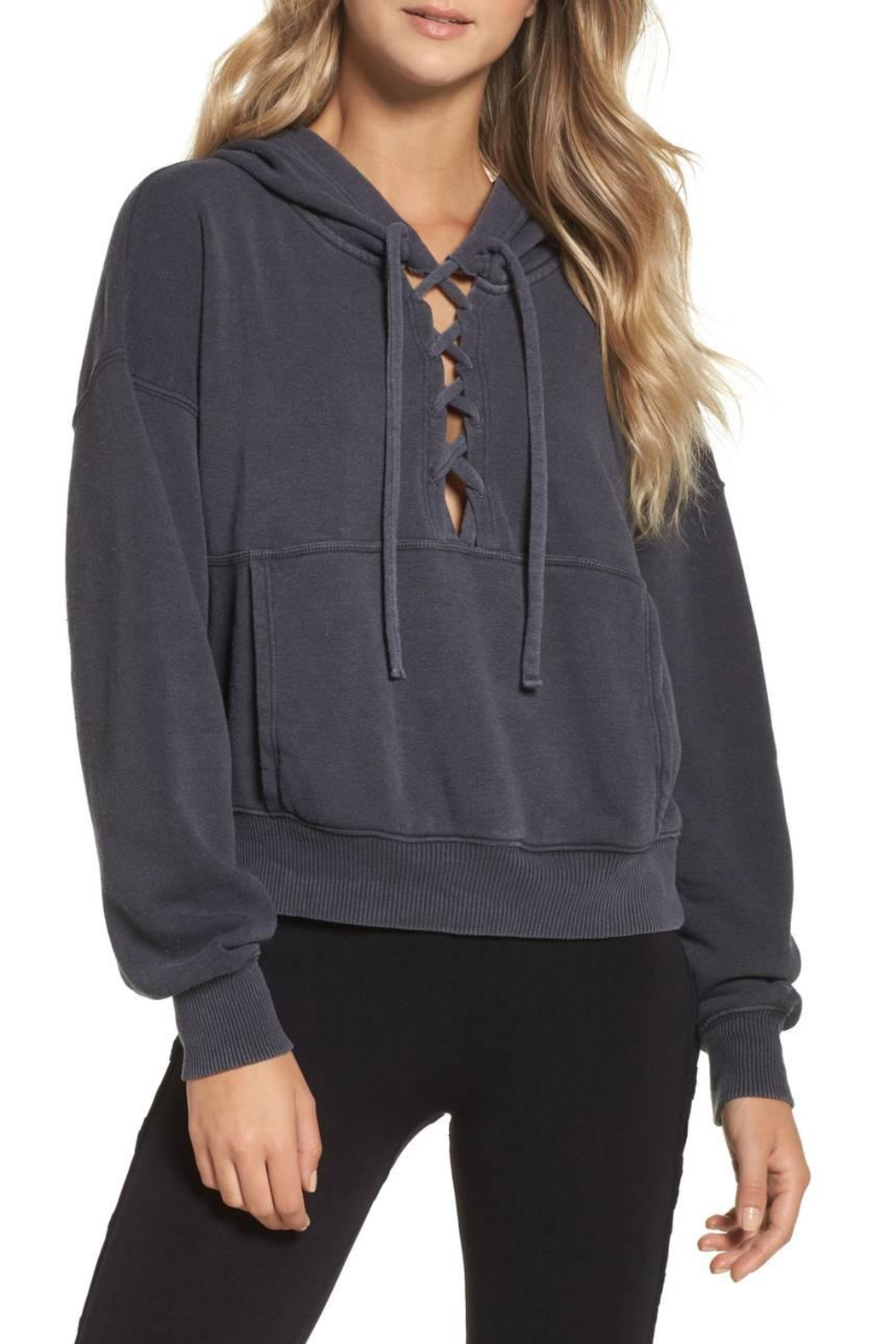 Free People Believer Hoodie - Front Cropped Image