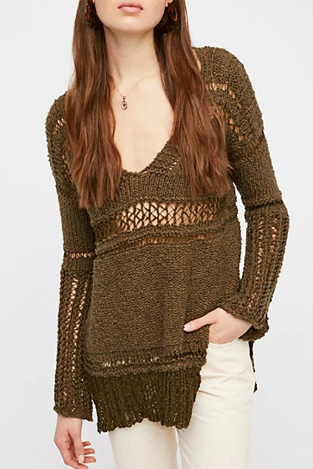 Free People Belong To You Sweater - Front Cropped Image