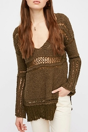 Free People Belong To You Sweater - Front cropped