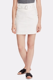 Free People Belted Mini Skirt - Product Mini Image
