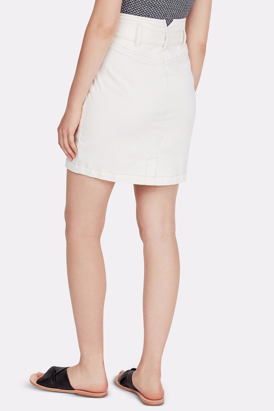 Free People Belted Mini Skirt - Front Full Image
