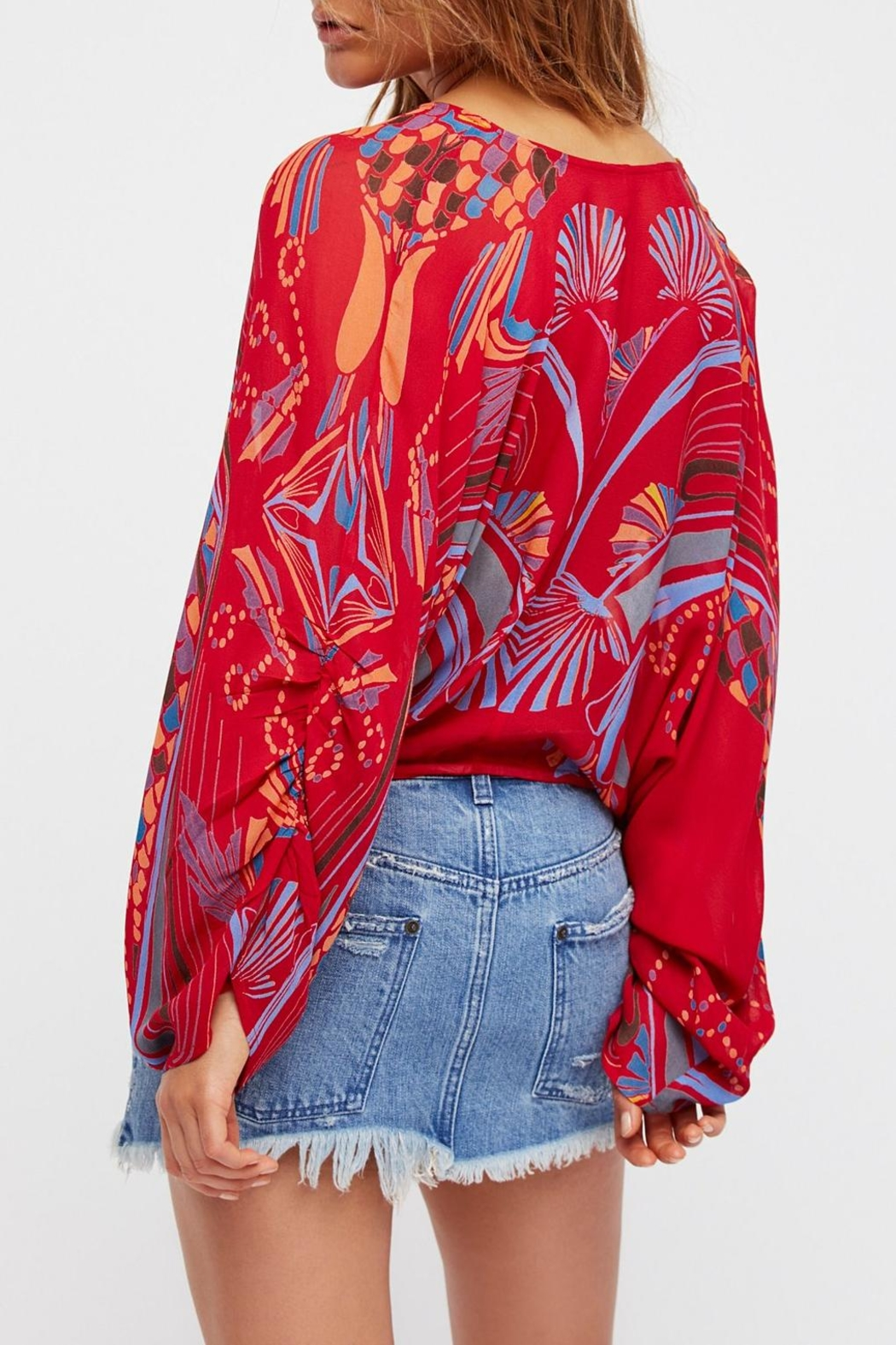 Free People Beneath The Sea Top - Front Full Image