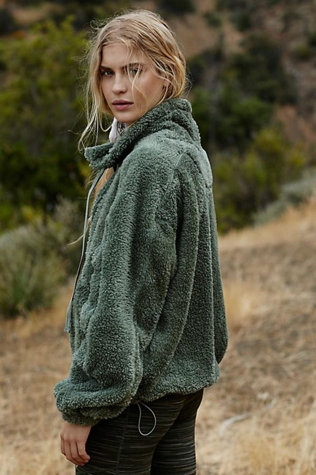 Free People Big Sky Pullover - Front Full Image