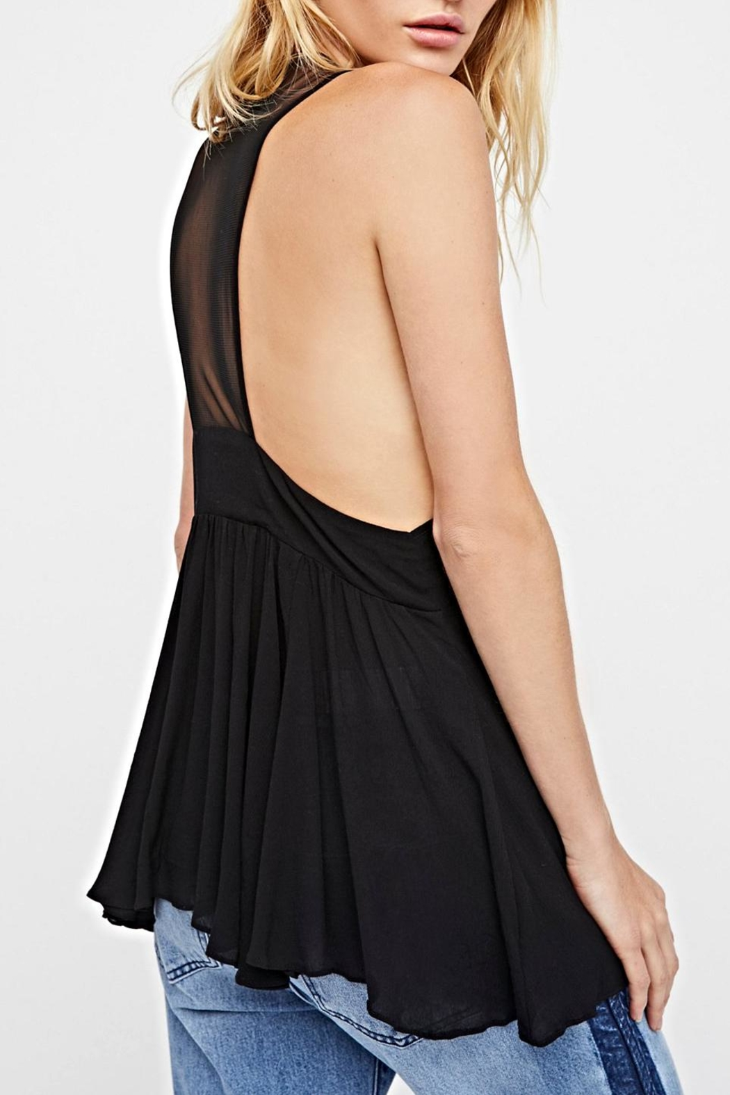 Free People Black Cami - Side Cropped Image