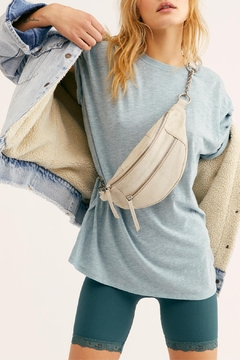 Free People Blue_ Moon Clarity_ringer Tee - Product List Image