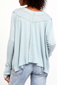 Free People Blue Oceanview Top - Alternate List Image