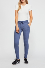 Free People Blue Skinny Sweatpants - Other