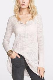 Free People Sheer Tunic-Length Top - Product Mini Image