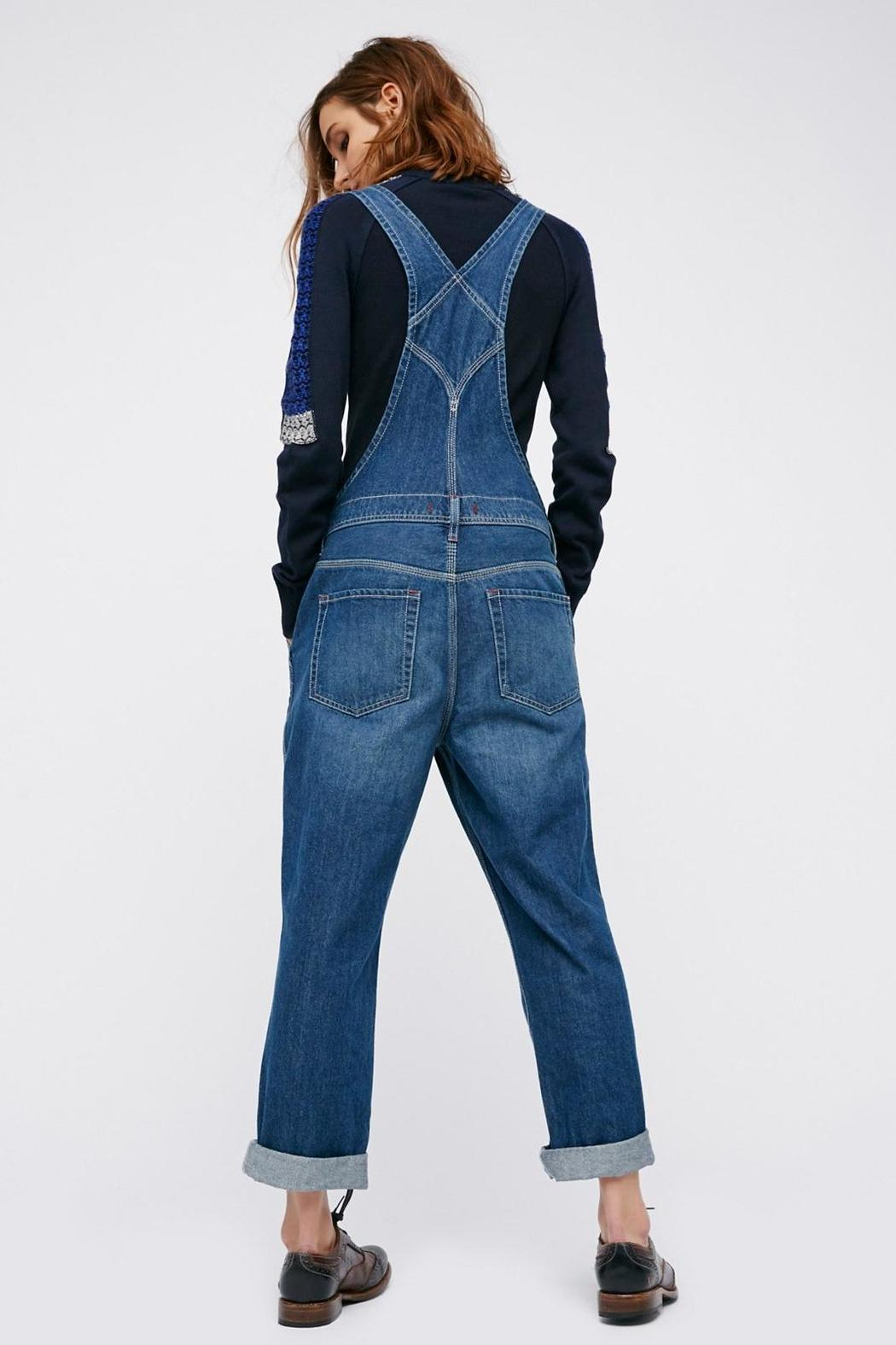 Free People Boyfriend Denim Overalls from Beverly Hills by ...