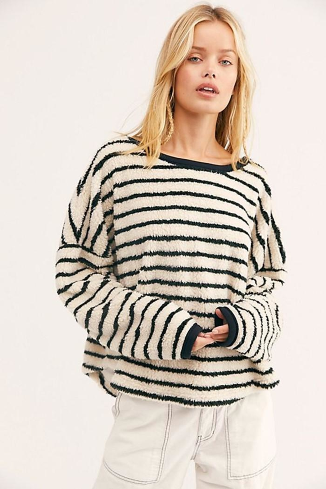 Free People Breton Striped Pullover - Main Image