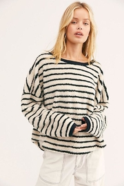 Free People Breton Striped Pullover - Front cropped