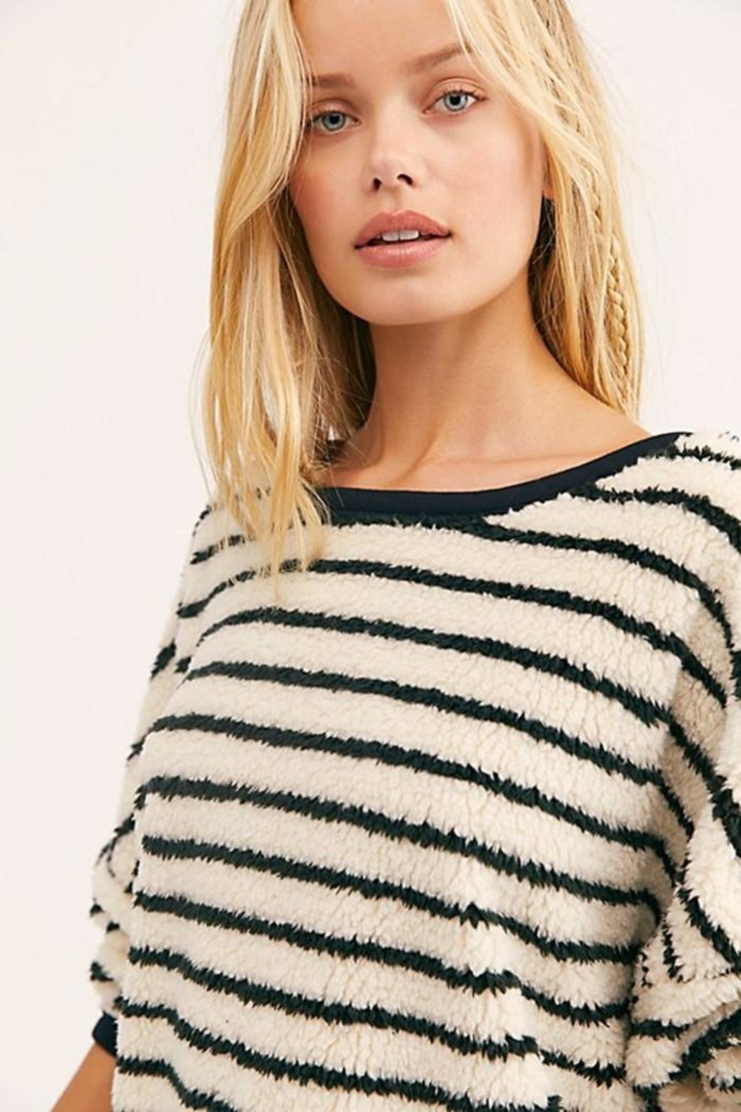 Free People Breton Striped Pullover - Side Cropped Image