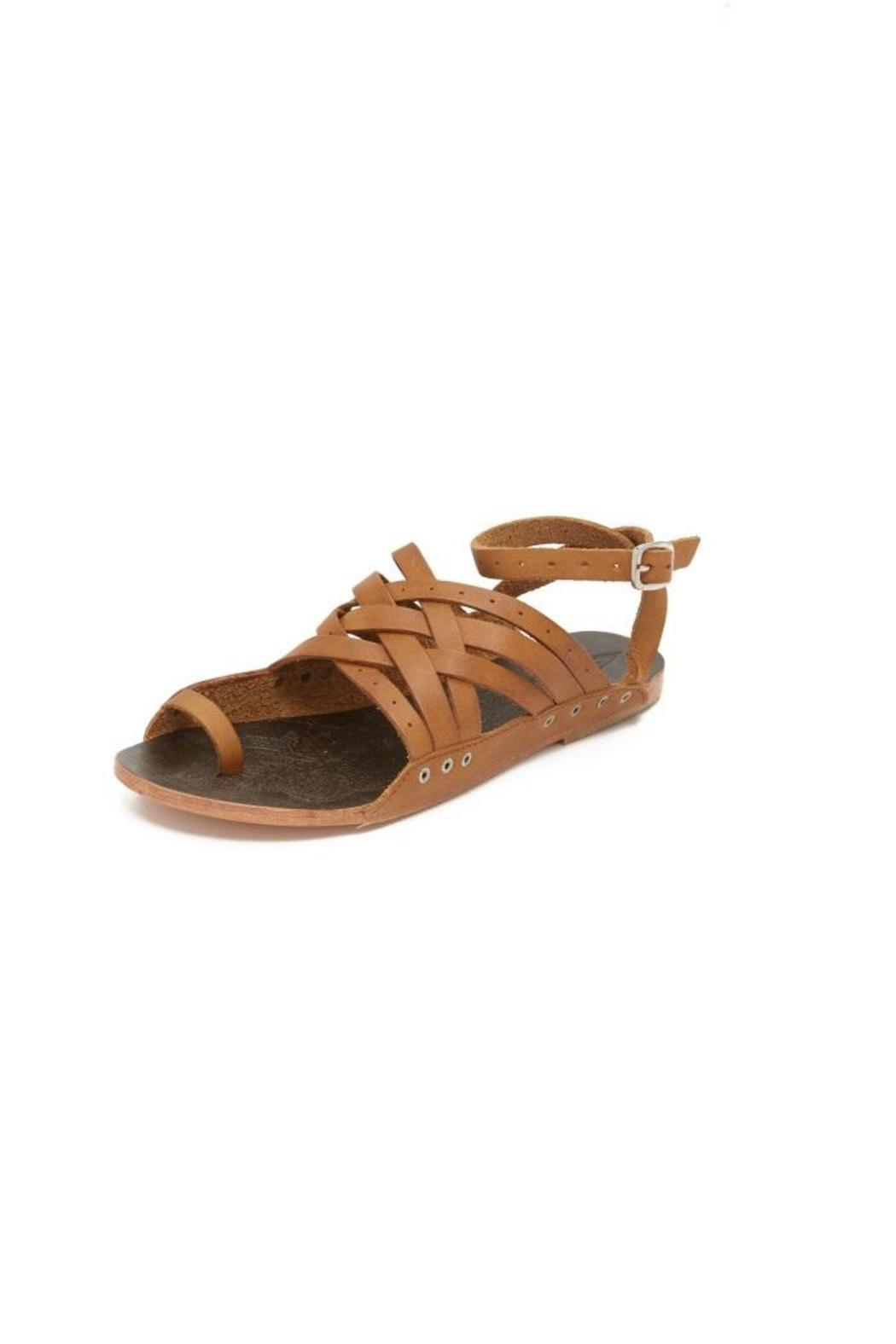 Free People Brown Strappy Sandal - Main Image