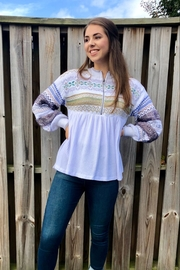 Free People Cabin Fever Top - Front full body