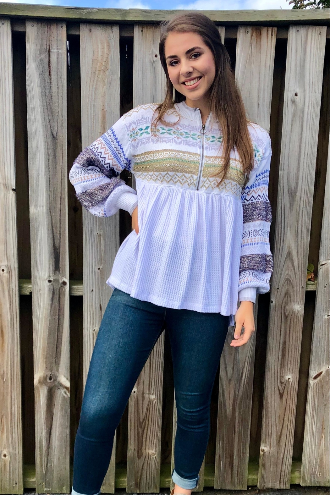 Free People Cabin Fever Top - Side Cropped Image