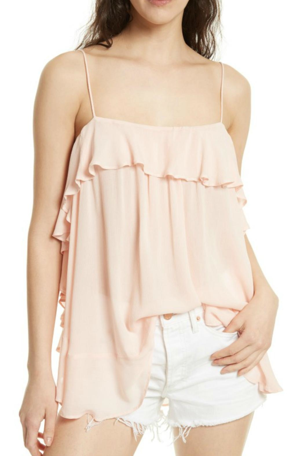 Free People Cascades Pink Cami - Main Image