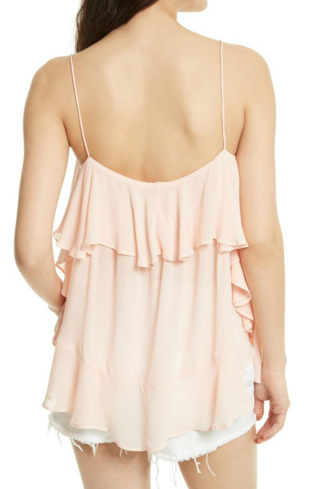 Free People Cascades Pink Cami - Front Full Image