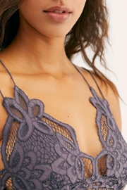 Free People Charcoal Adella Bralette - Side cropped