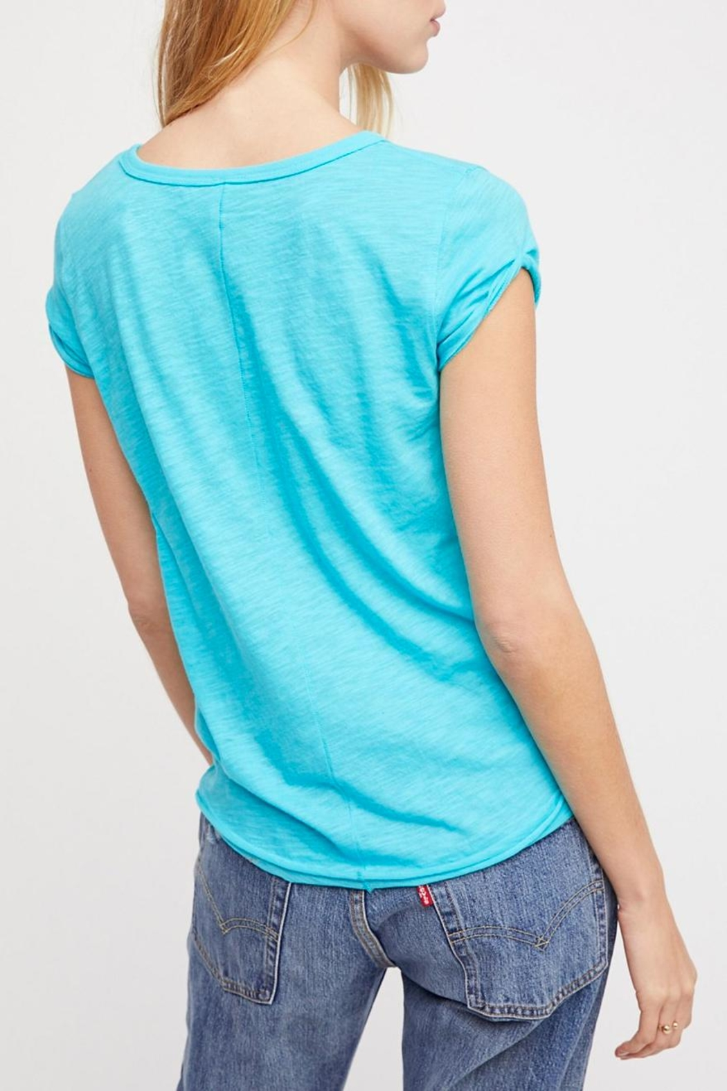 Free People Clare Tee - Front Full Image