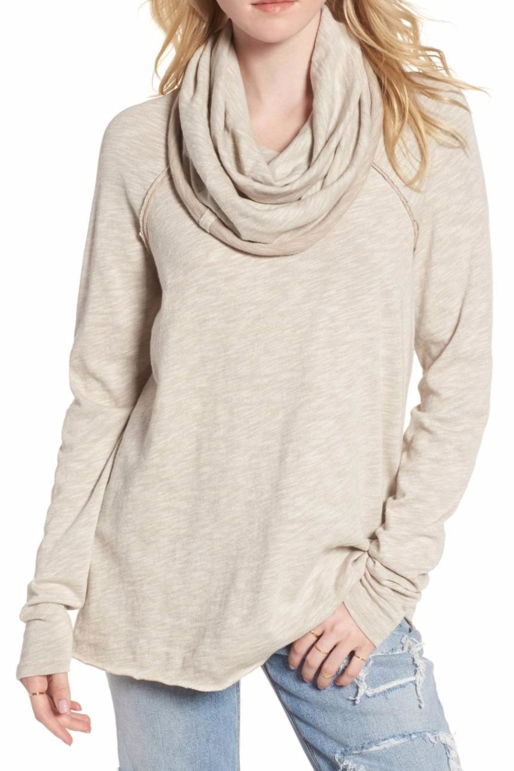 c7ee13cbf0 Free People Cocoon Cowl Neck Pullover from Georgia by Mimi's, The ...