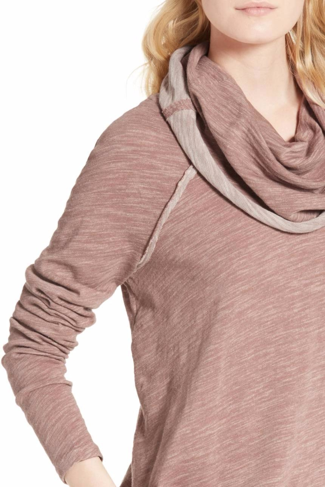Free People Cocoon Cowl Pullover - Side Cropped Image