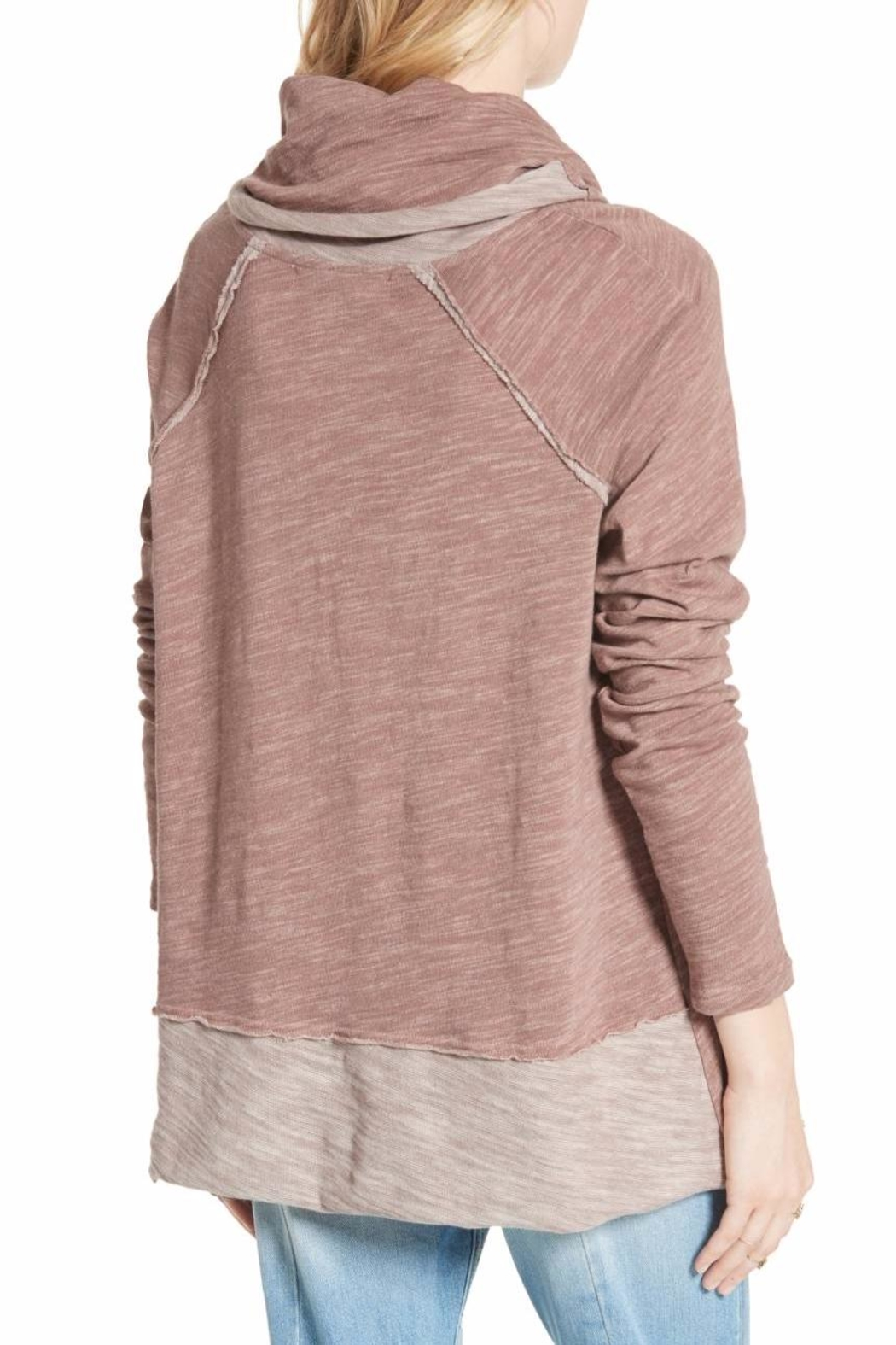 Free People Cocoon Cowl Pullover - Front Full Image