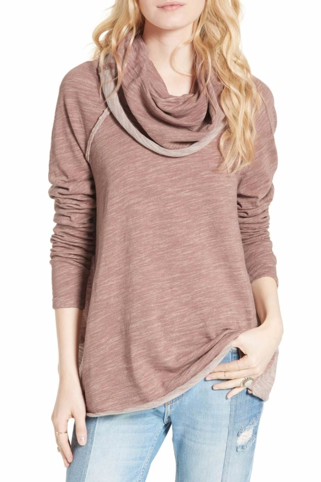 Free People Cocoon Cowl Pullover - Main Image