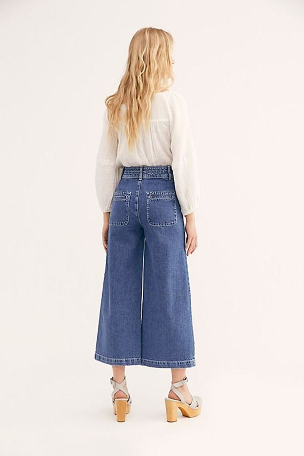 Free People Colette Wide Leg - Front Full Image