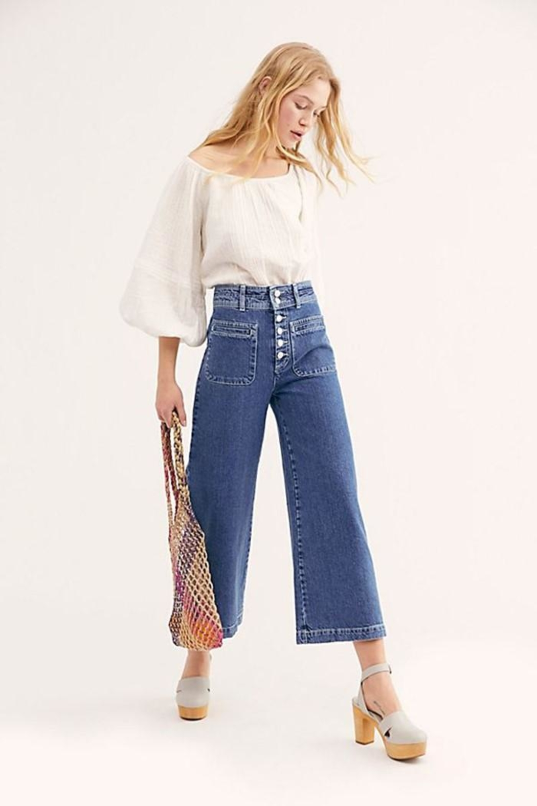 Free People Colette Wide Leg - Main Image