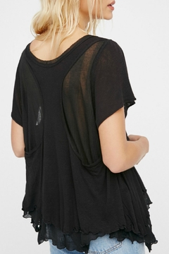 Free People Black Cookie Tee - Alternate List Image