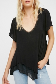 Free People Black Cookie Tee - Product Mini Image