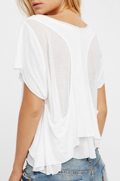 Free People White Cookie Tee - Alternate List Image