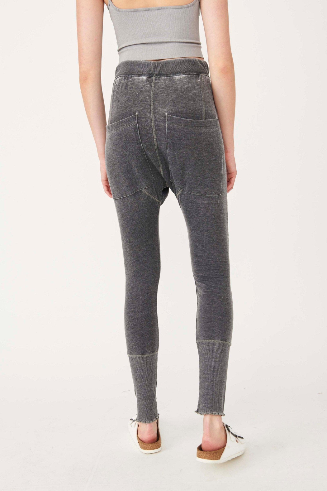 Free People Cozy All Day Harem - Back Cropped Image