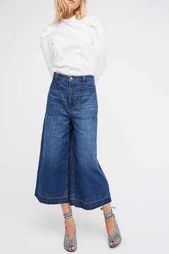 Free People Cropped Wide Leg - Product List Image
