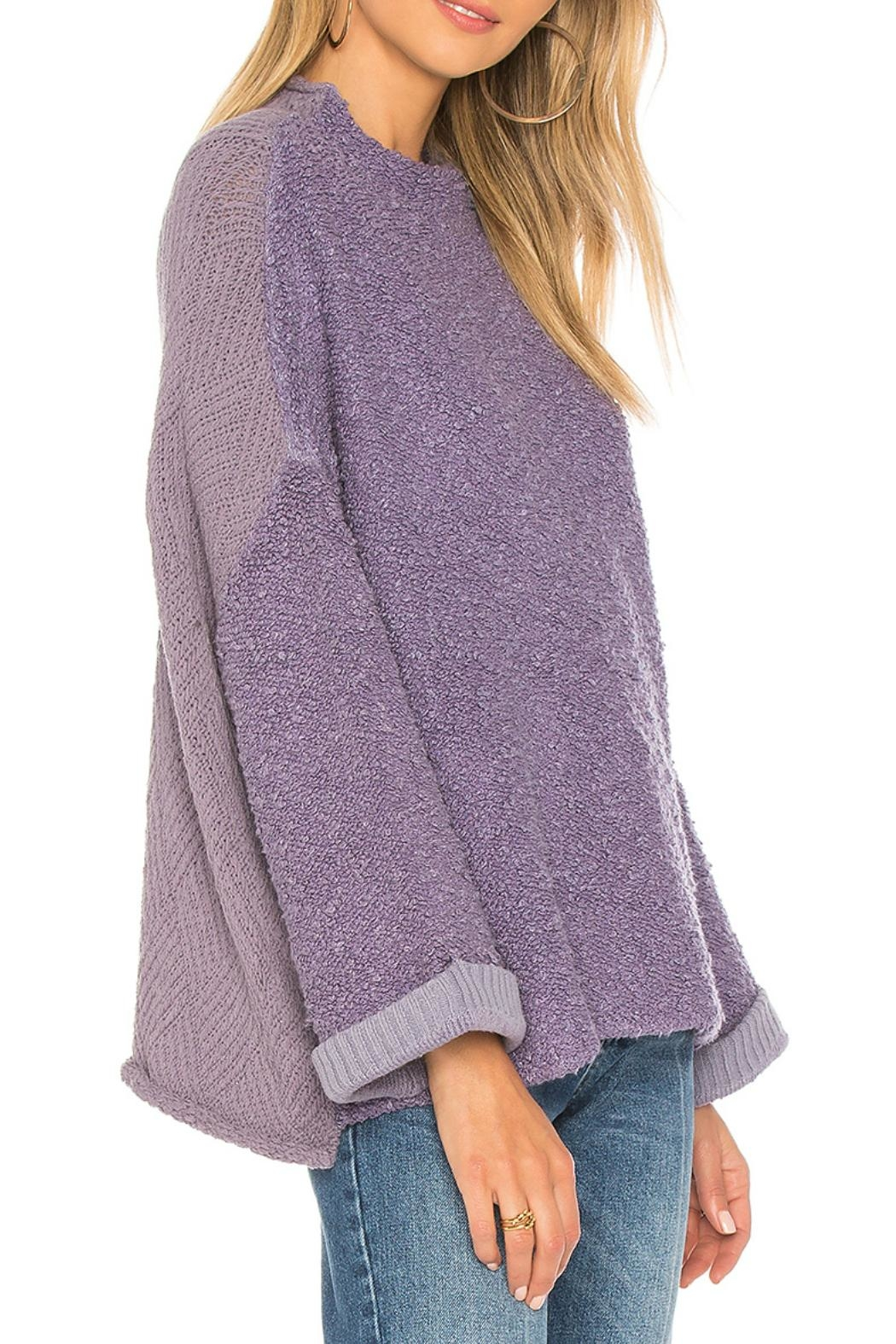 Free People Cuddle Up Pullover - Front Full Image