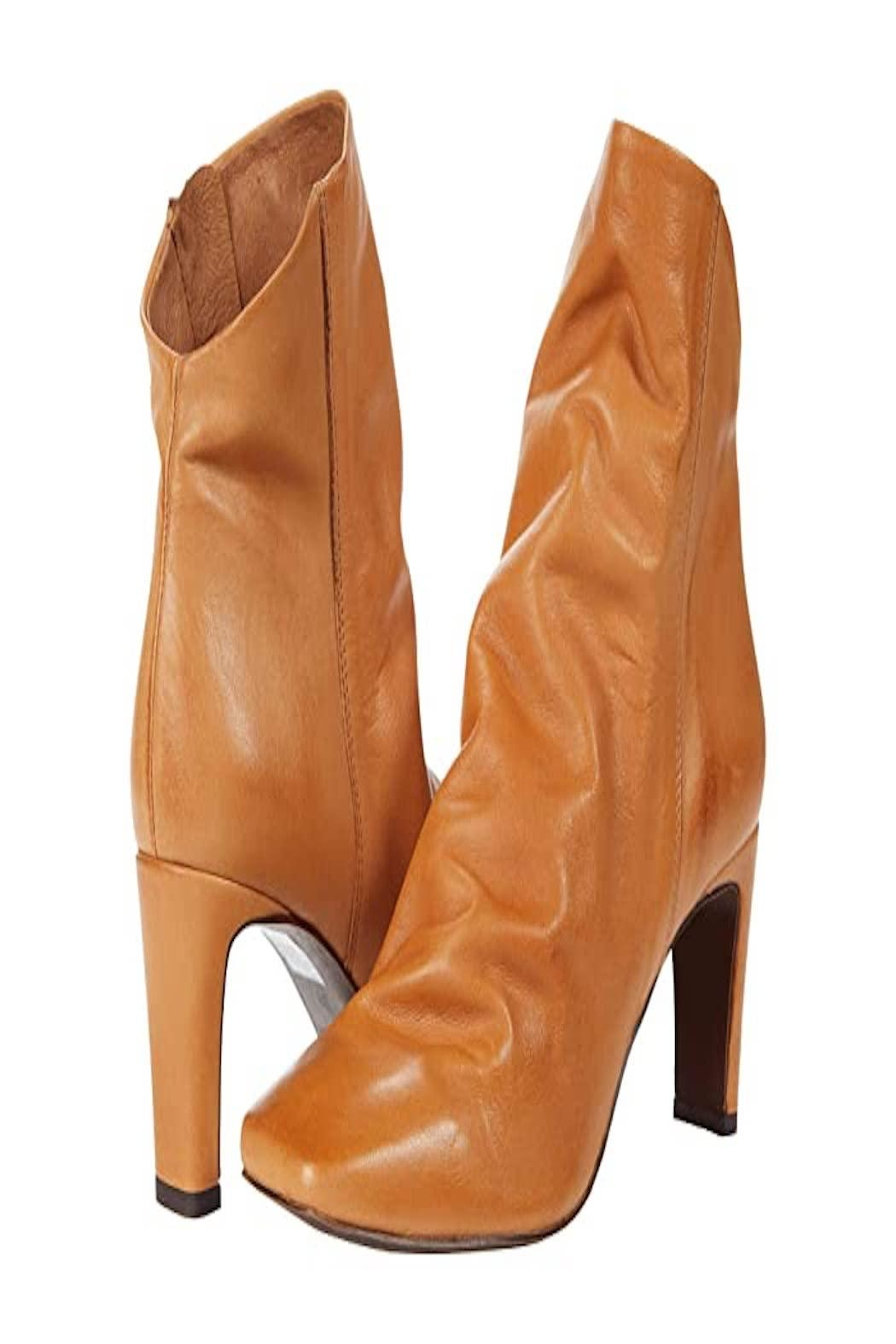 Free People Cybill Heel Boot - Front Cropped Image