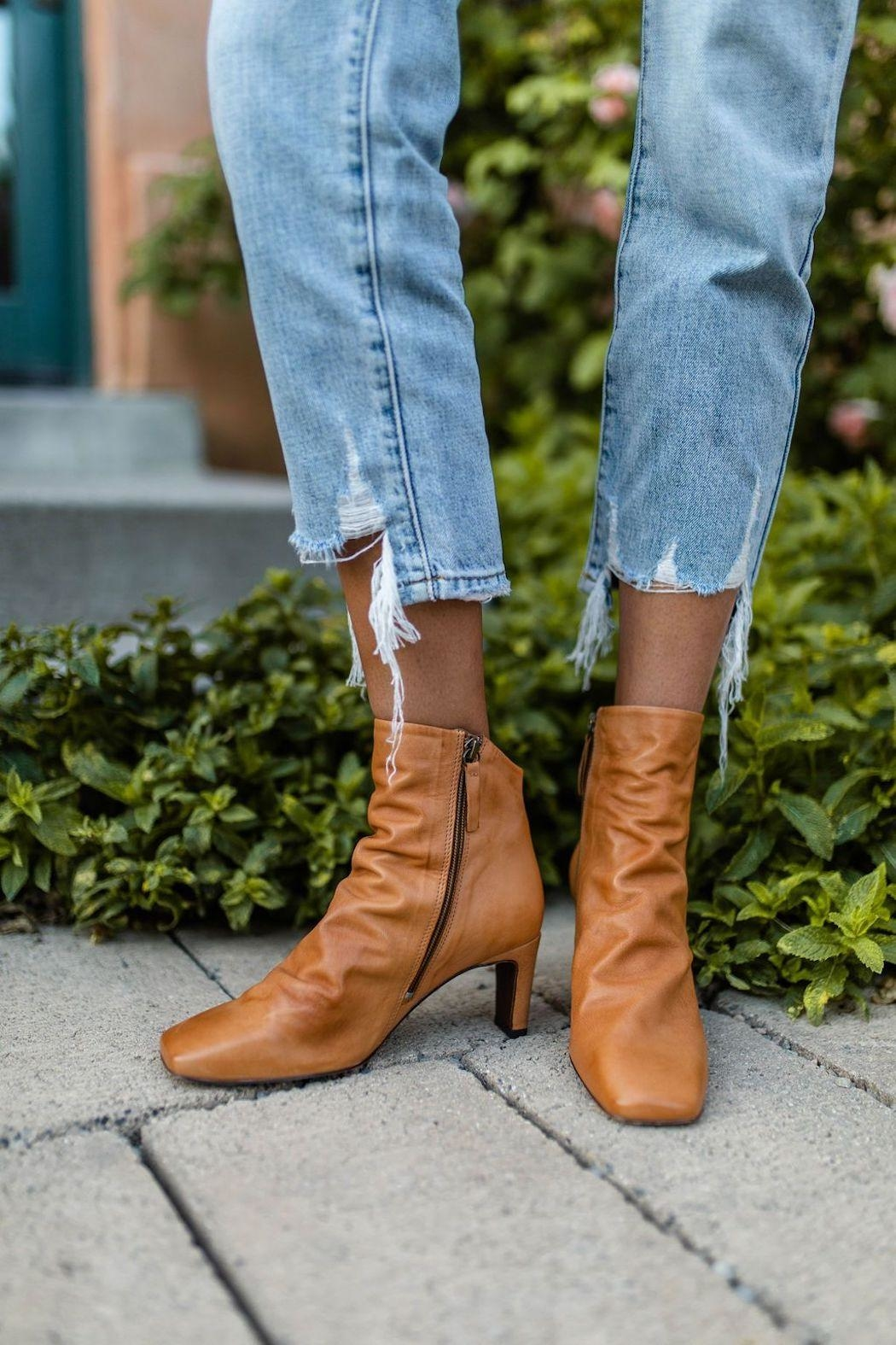 Free People Cybill Heel Boot - Side Cropped Image