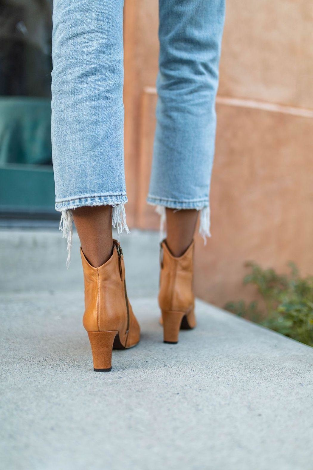 Free People Cybill Heel Boot - Back Cropped Image