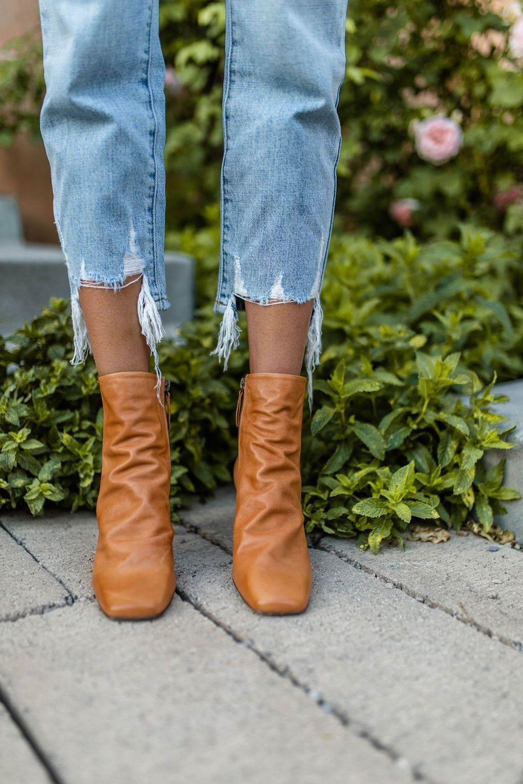 Free People Cybill Heel Boot - Front Full Image