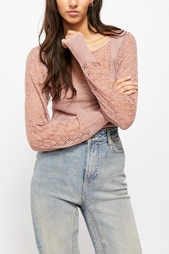 Free People Cyrstallized Sweater - Product List Image