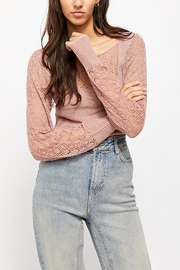 Free People Cyrstallized Sweater - Product Mini Image