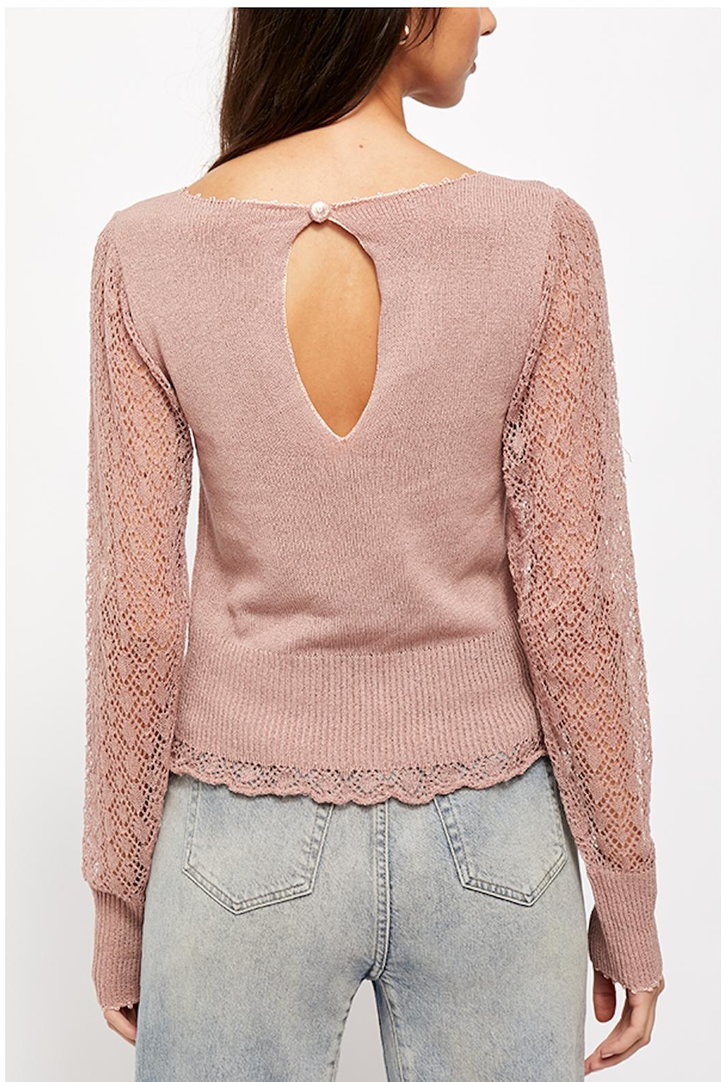 Free People Cyrstallized Sweater - Side Cropped Image