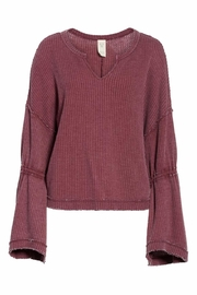 Free People Dahlia Thermal Top - Product Mini Image