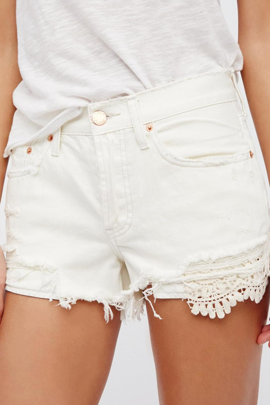 Free People Daisy Chain Lace Short - Side Cropped Image