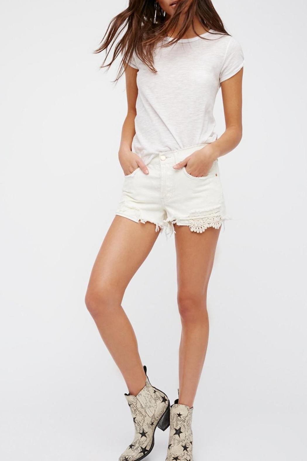 Free People Daisy Chain Lace Short - Main Image
